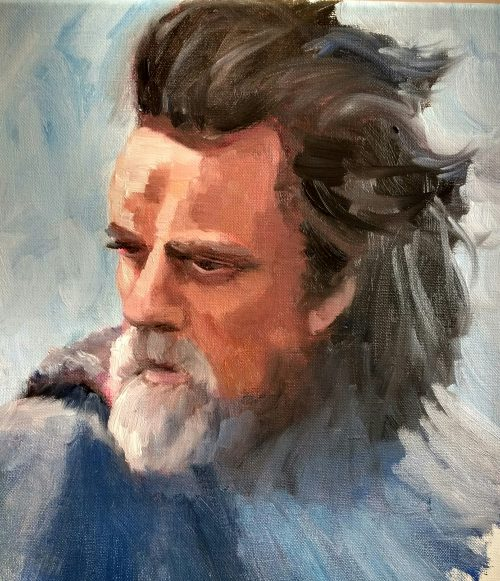 Last Jedi, Old Man Luke