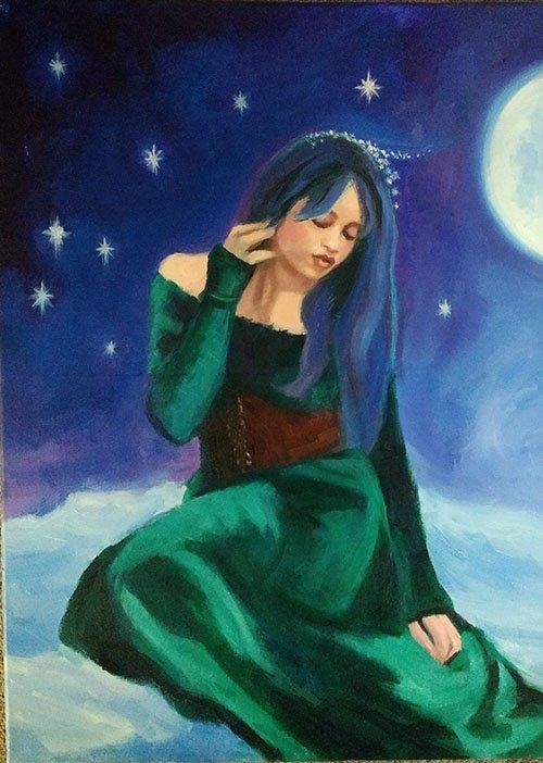 Moon Sea Mermaid