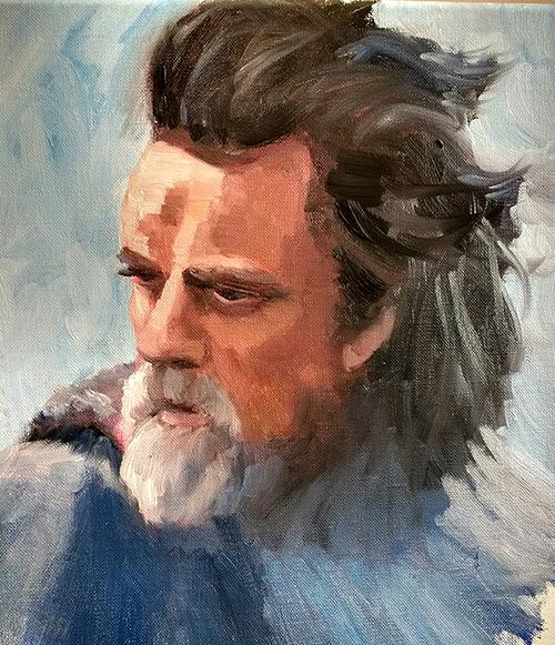Last Jedi, Old Man Luke
